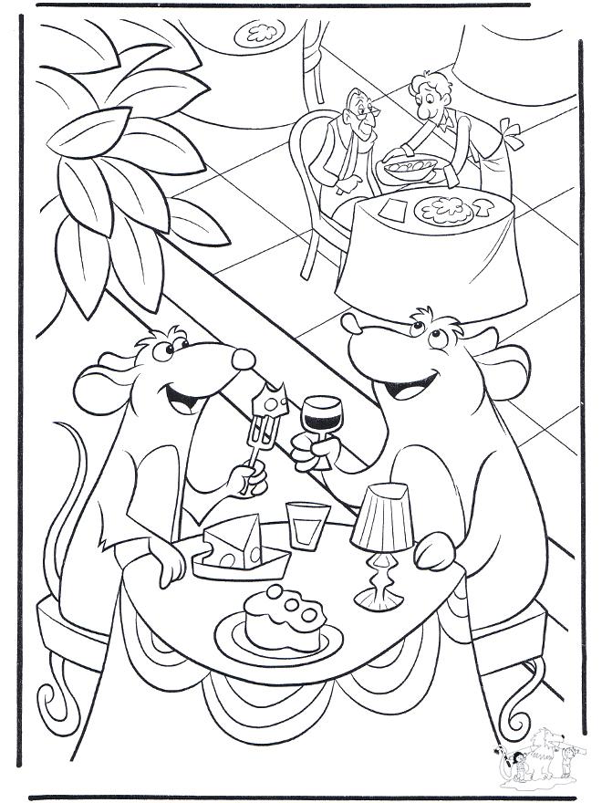 Coloriage Rauille Imprimer Gratuit intérieur Coloriage Ratatouille