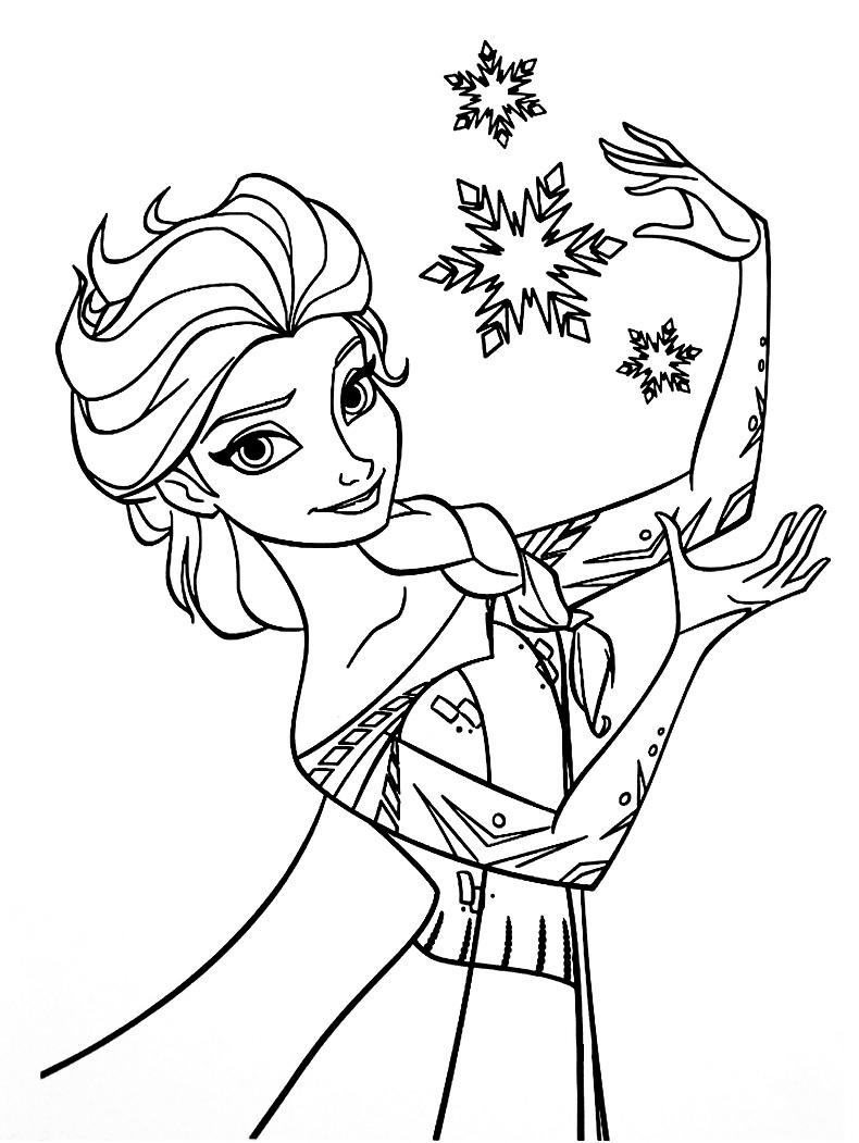 Coloriage Reine Des Neiges Pour Les 2 Ans Du Dessin Animé à Coloriage Reine Des Neiges