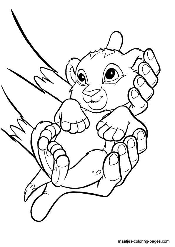 Coloriage Roi Lion | Lion Coloriage, Coloriage Disney concernant Lion A Colorier