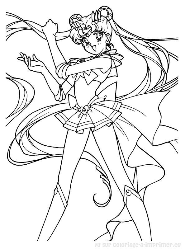 Coloriage Sailor Moon | My Blog encequiconcerne Coloriage Sailor Moon A Imprimer