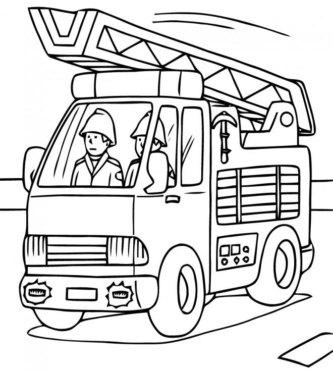 Coloriage Sam Le Pompier 20 Dessin Gratuit À Imprimer tout Dessin Pompier A Imprimer