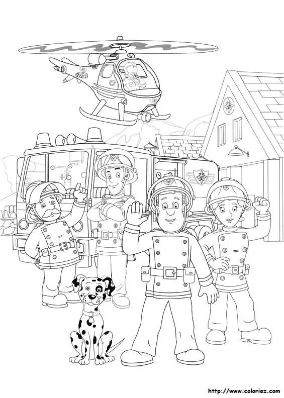 Coloriage Sam Le Pompier En Ligne Coloriage Sam Le Pompier concernant Jeux De Sam Le Pompier Gratuit