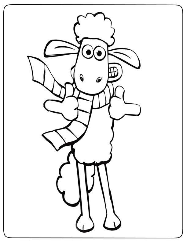 Coloriage Shaun Le Mouton - Ohbq serapportantà Coloriage Mouton À Imprimer