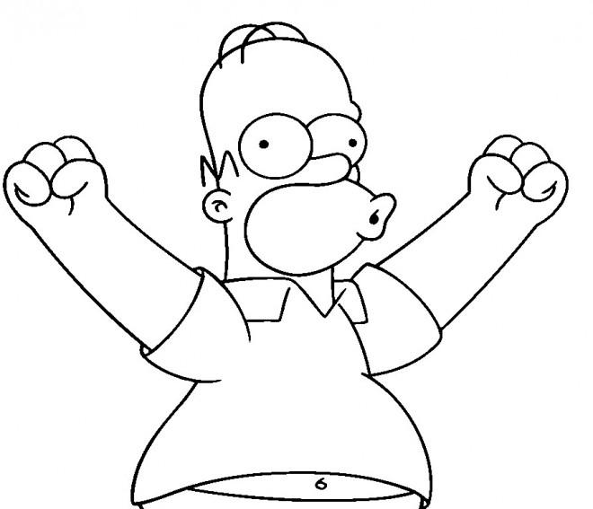 Coloriage Simpson Homer En Ligne Dessin Gratuit À Imprimer encequiconcerne Coloriage En Ligne Hulk