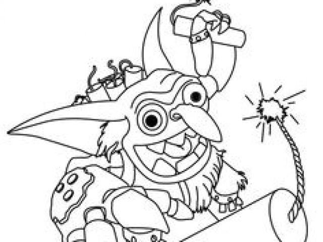 Coloriage Skylander Imaginator Skylanders Swap Force pour Coloriage Skylanders Swap Force