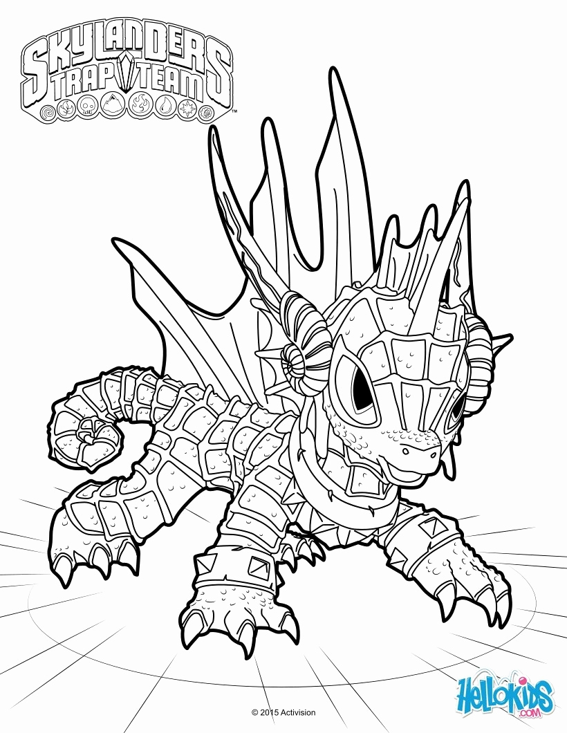 Coloriage Skylanders Imaginators Beau Coloriage Skylanders avec Coloriage Skylanders Swap Force