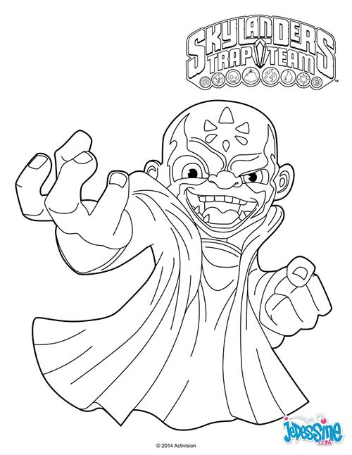 Coloriage Skylanders Trap Team | My Blog tout Coloriage Skylanders Trap Team A Imprimer Gratuit