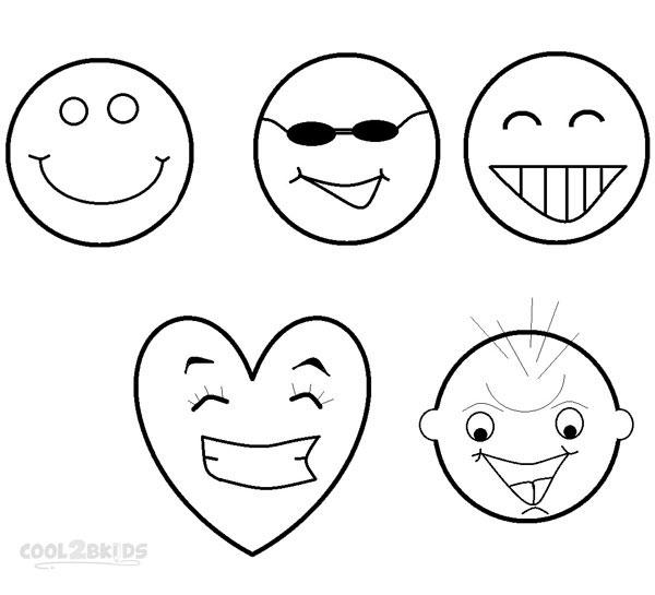 Coloriage Smiley À Imprimer Pour Les Enfants - Cp24121 concernant Coloriage Smiley A Imprimer Gratuit