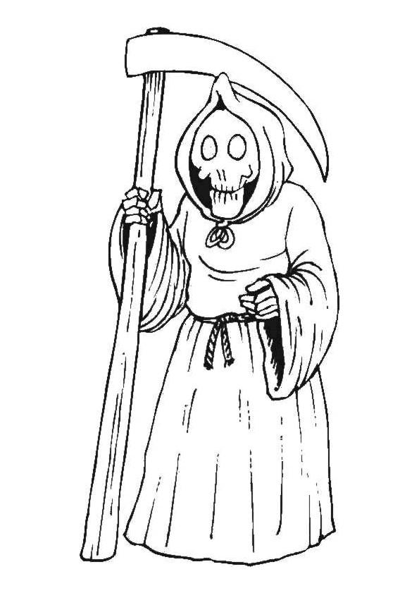 Coloriage Squelette Halloween Dessin Gratuit À Imprimer serapportantà Dessin Halloween À Imprimer Gratuit