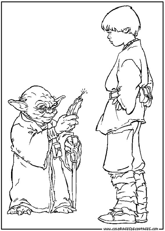 Coloriage Star Wars À Colorier - Dessin À Imprimer serapportantà Coloriage Star Wars