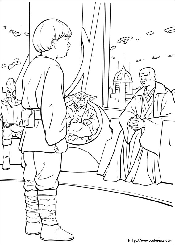 Coloriage Star Wars Skywalker dedans Coloriage Lego Star Wars
