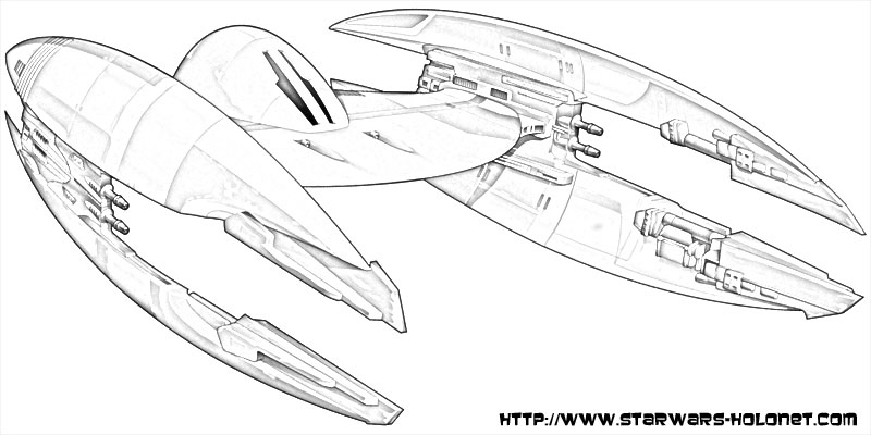 Coloriage Star Wars Vaisseau Sketch Coloring Page dedans Coloriage Vaisseau Spatial