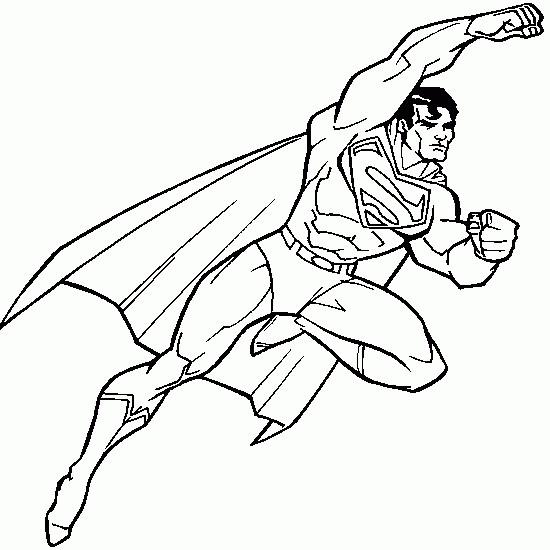 Coloriage Superman En Volant Dessin Gratuit À Imprimer serapportantà Coloriage Superman A Imprimer Gratuit