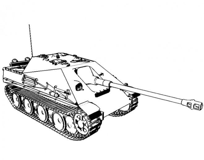 Coloriage Tank Facile Dessin Gratuit À Imprimer intérieur Dessin De Tank