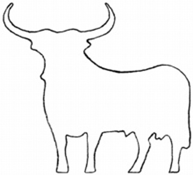 Coloriage-Taureau-Vache-Veau-Imprimer-Espagnol-Coloriage tout Drapeau Espagnol A Imprimer