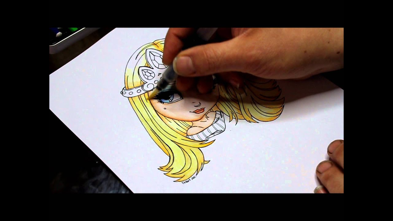Coloriage Technique Aquarelle - à Crayon De Coloriage