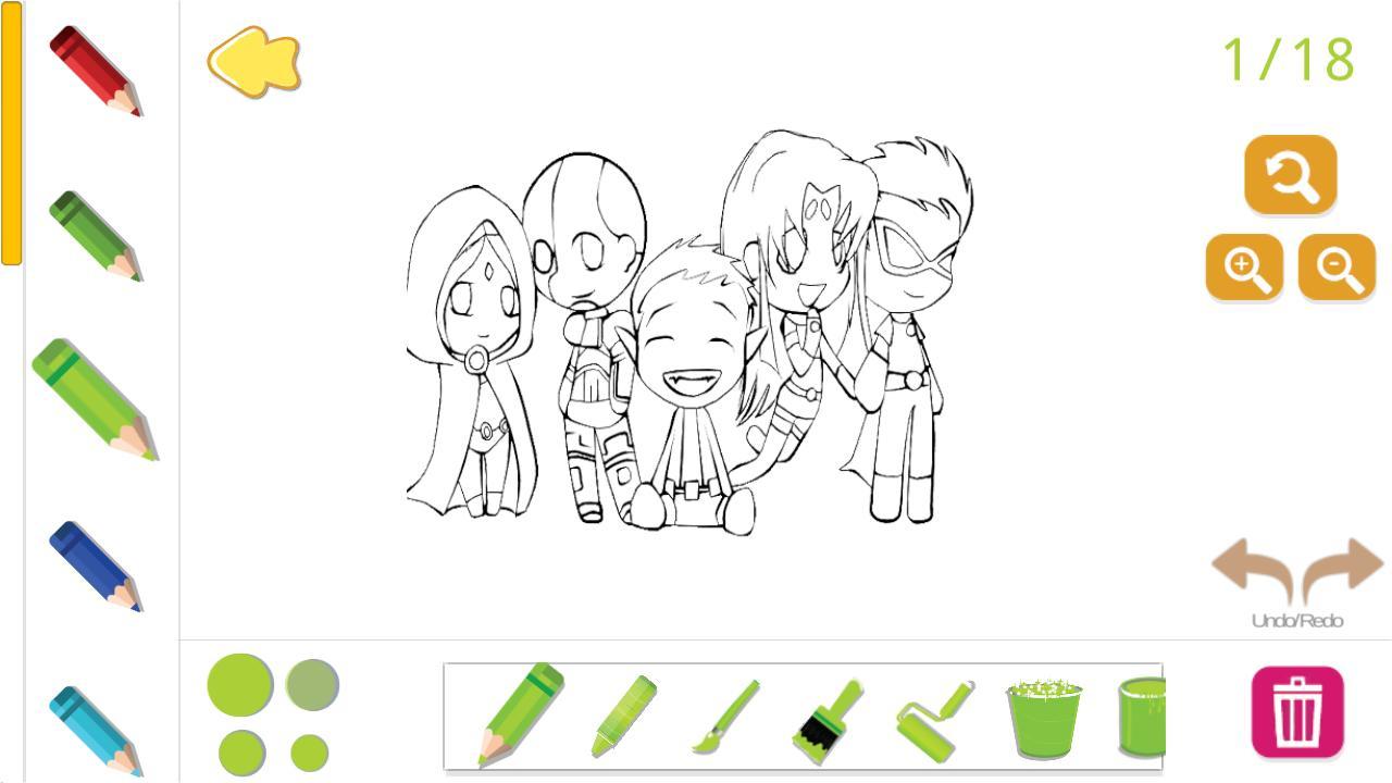 Coloriage Teen Titans Go Livre De Coloriage Pour Android concernant Dessin ? Colorier Ciborg