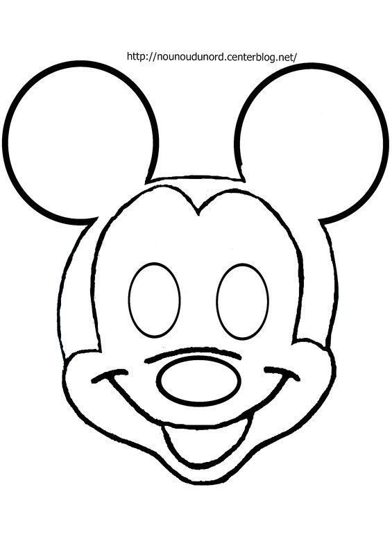 Coloriage Tete De Mickey | My Blog dedans Coloriage Tete Mickey