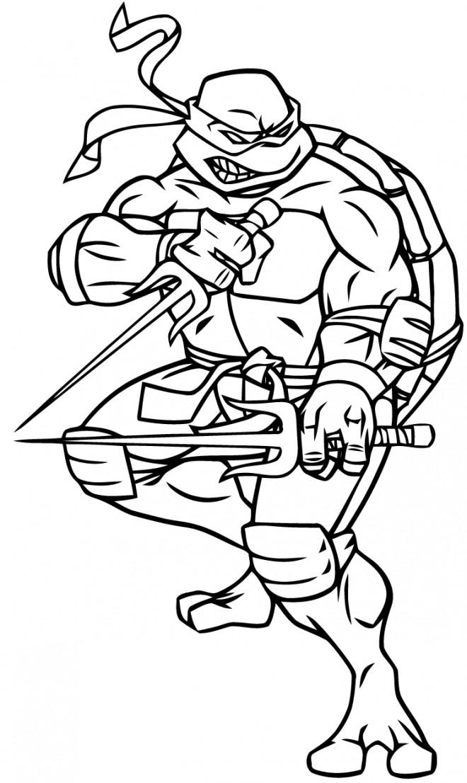 Coloriage Tortue Ninja Armé Dessin Gratuit À Imprimer encequiconcerne Coloriage De Tchoupi A Imprimer Gratuit