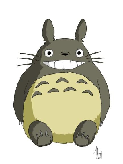 Coloriage Totoro À Imprimer tout Coloriage Totoro A Imprimer