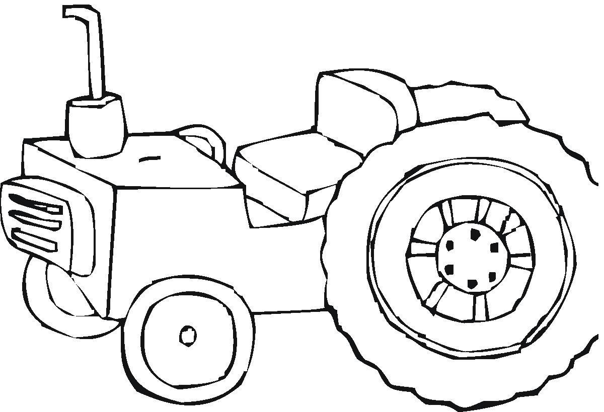 Coloriage Tracteur 2 | 321 Coloriage serapportantà Coloriage Tracteur