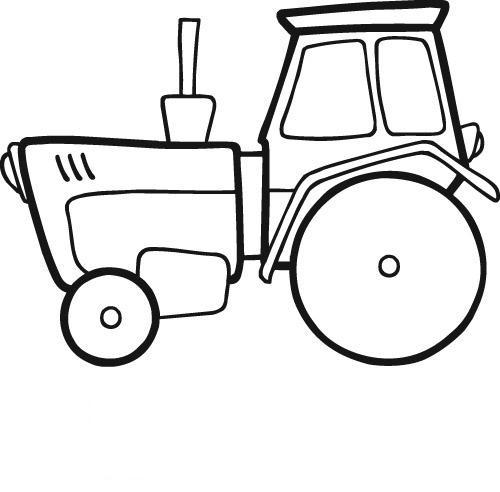 Coloriage Tracteur Gratuit À Imprimer Liste 60 À 80 dedans Dessin D Un Tracteur