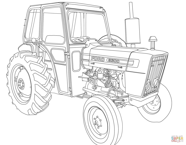 Coloriage Tracteur Tom En Ligne – 123Coloriage concernant Dessin Tracteur Tom