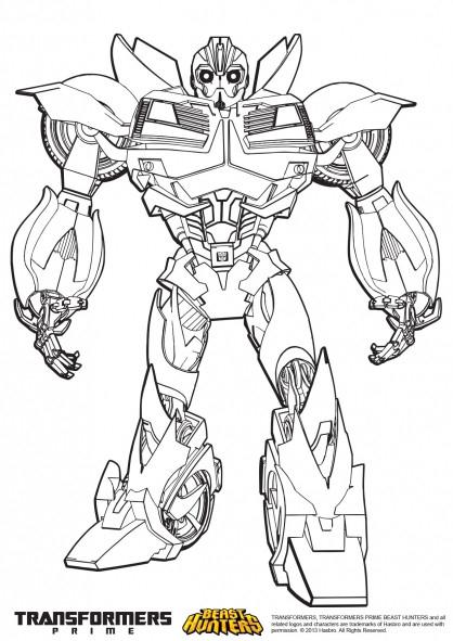 Coloriage Transformers Bumblebee Couleur Dessin Gratuit À tout Dessins De Coloriage Transformers Imprimer