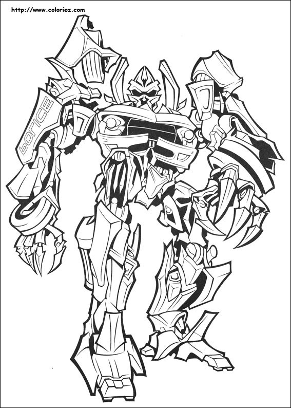 Coloriage Transformers Rampage Dessin Gratuit À Imprimer concernant Dessins De Coloriage Transformers Imprimer