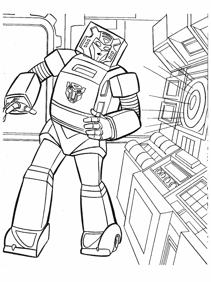 Coloriage Transformers Robot À Imprimer Sur Coloriages tout Coloriage À Imprimer Transformers