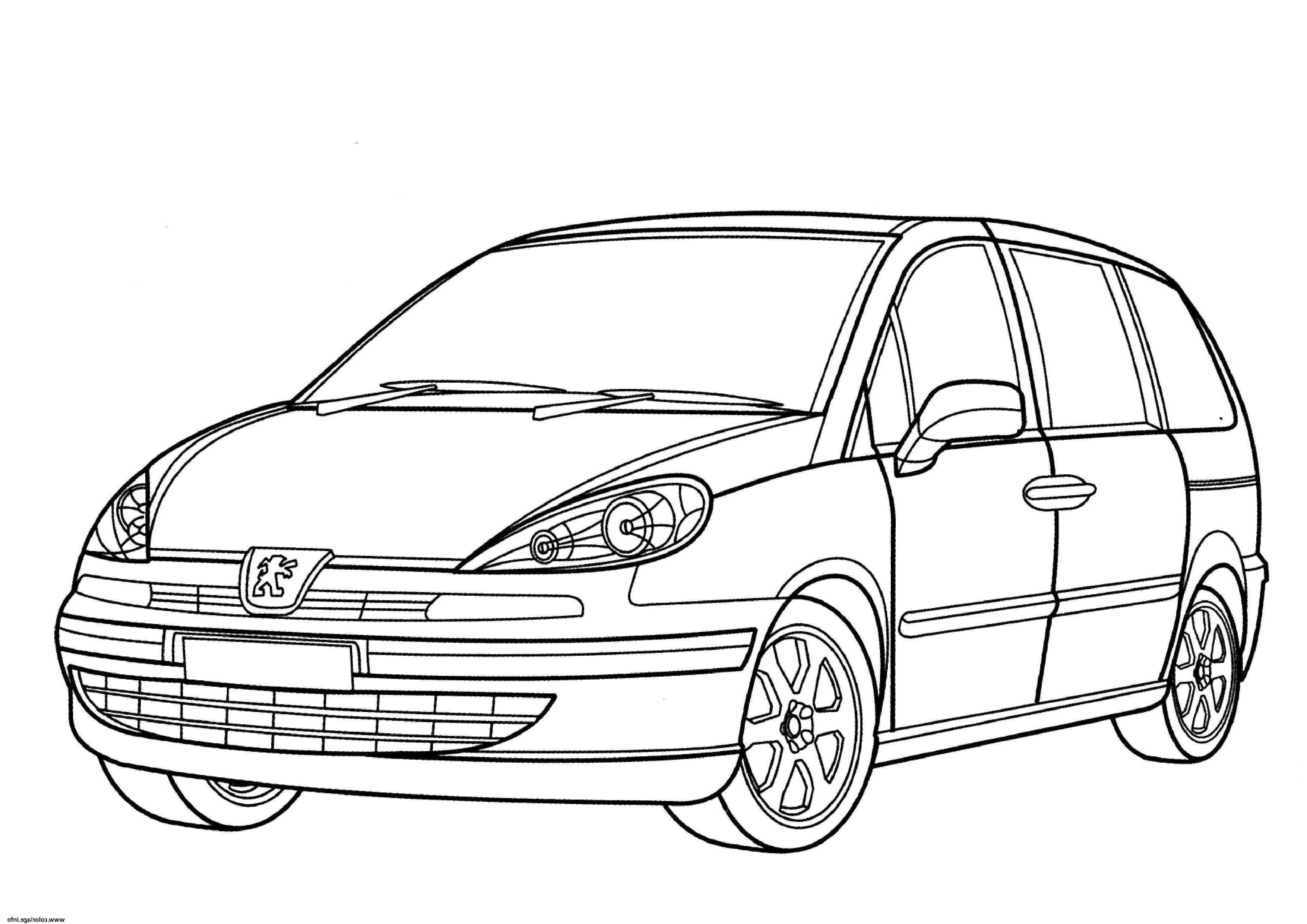 Coloriage Vehicule - Greatestcoloringbook pour Voiture Int?Rieur Coloriage