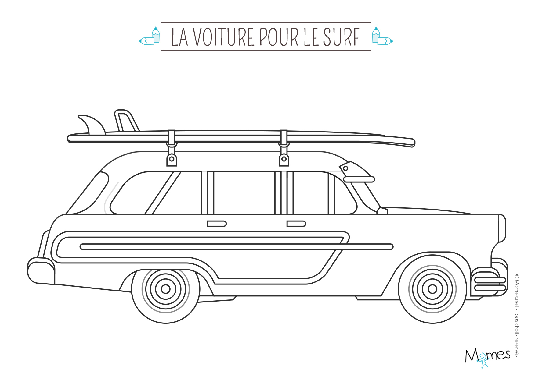Coloriage Vehicule - Greatestcoloringbook tout Voiture Int?Rieur Coloriage