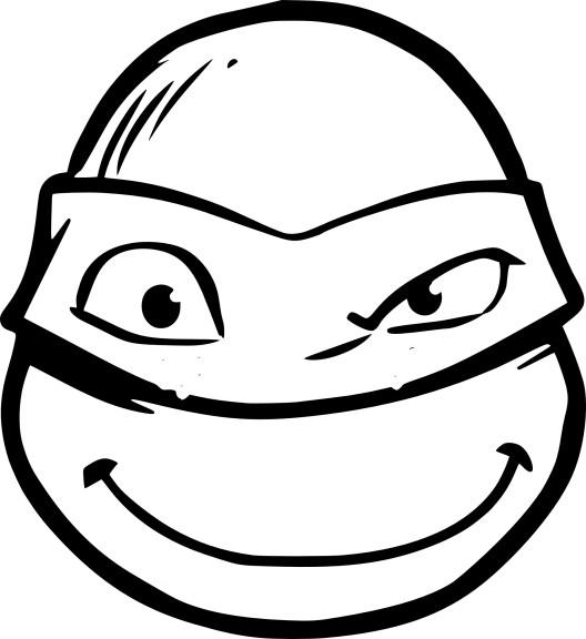 Coloriage Visage Tortue Ninja À Imprimer intérieur Coloriage Tortue Ninja A Imprimer Gratuit