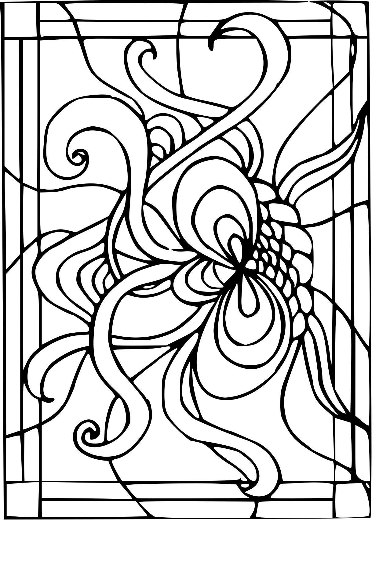Coloriage Vitrail À Imprimer Sur Coloriages à Coloriage De Fortnite A Imprimer Gratuitement