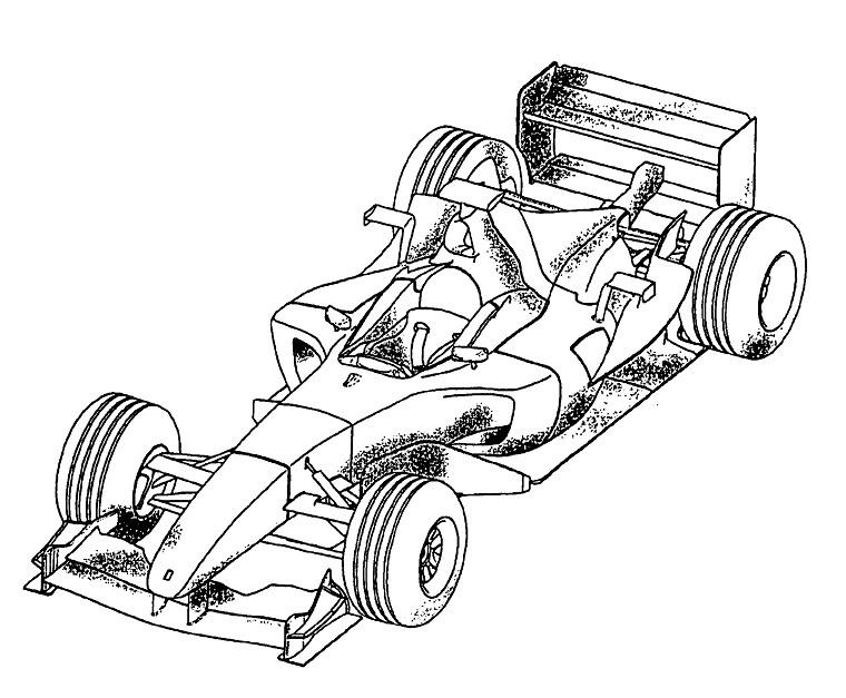 Coloriage Voiture De Course 24H Du Mans encequiconcerne Image De Voiture A Imprimer