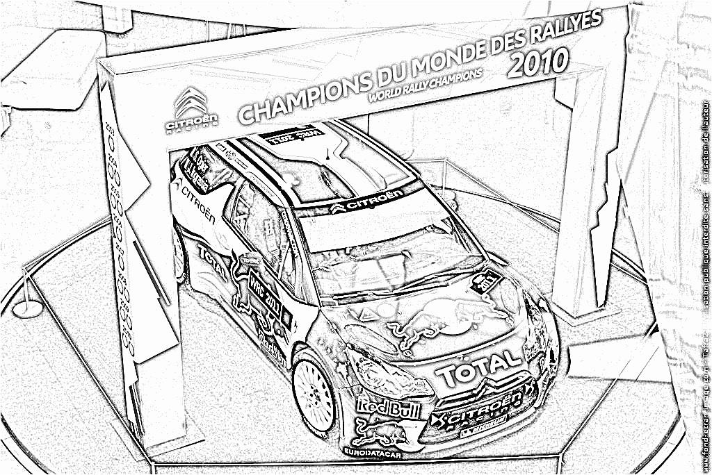 Coloriage Voitures De Rallye | Danieguto avec Coloriage Voiture À Imprimer
