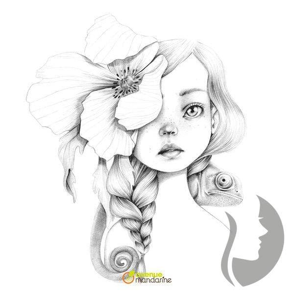 Coloriage Wild 3 - Emmanuelle Colin - Umělecké Omalovánky encequiconcerne Coloriage Wild 4