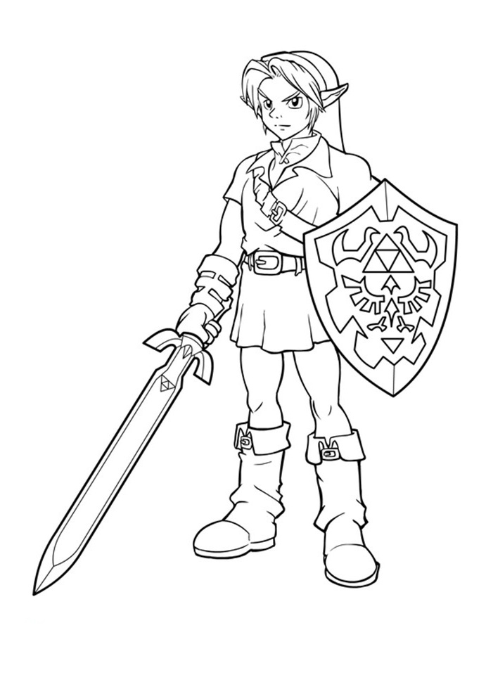 Coloriage Zelda Impressionnant Photos Free Printable Zelda à Coloriage Zelda Twilight Princess