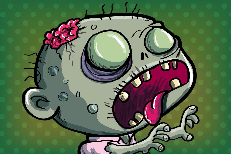 Coloriage Zombies Sur Hugolescargot concernant Hugo L'Escargot Coloriages
