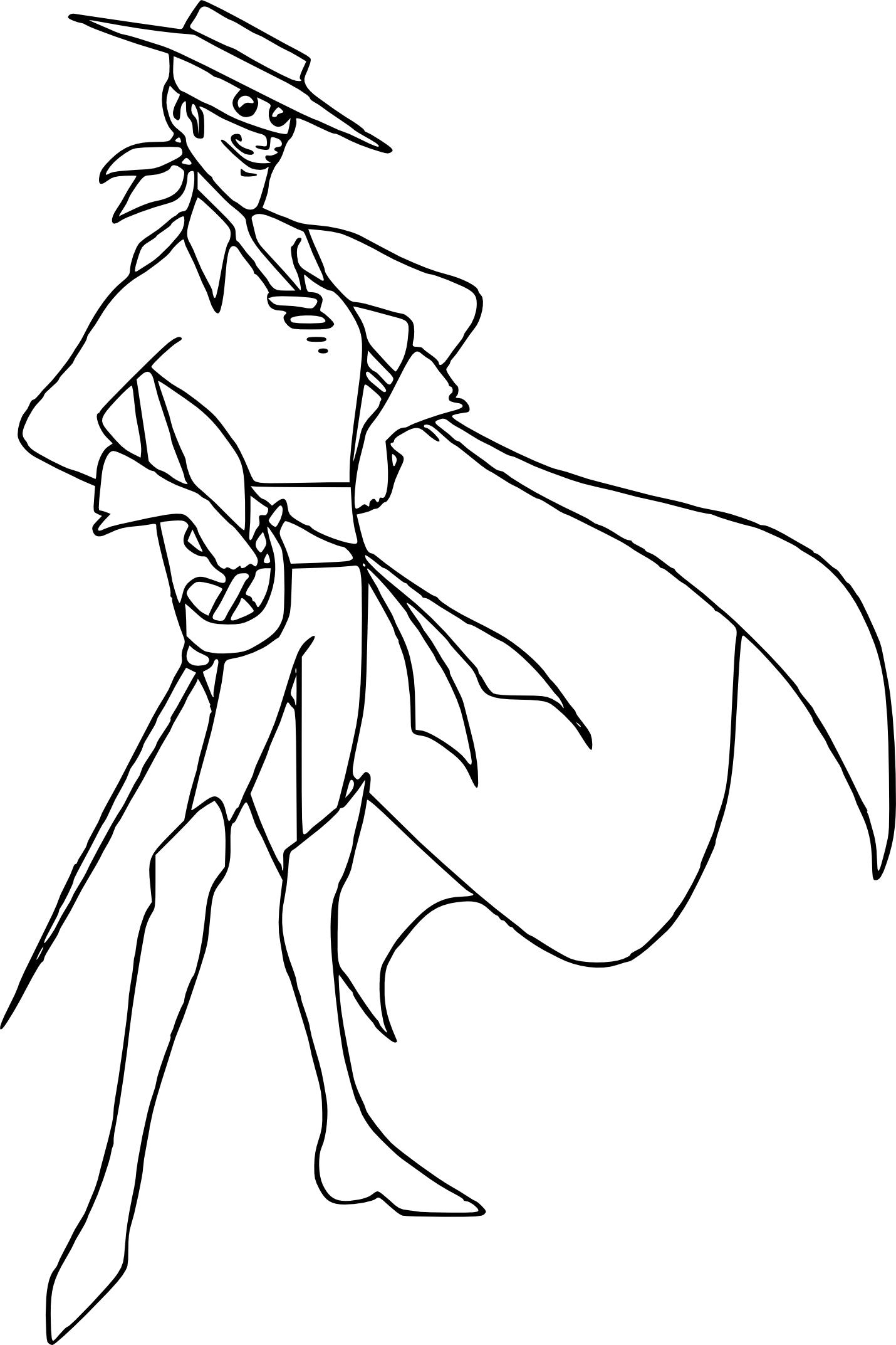 Coloriage Zorro À Imprimer avec Dessin Coloriage A Imprimer