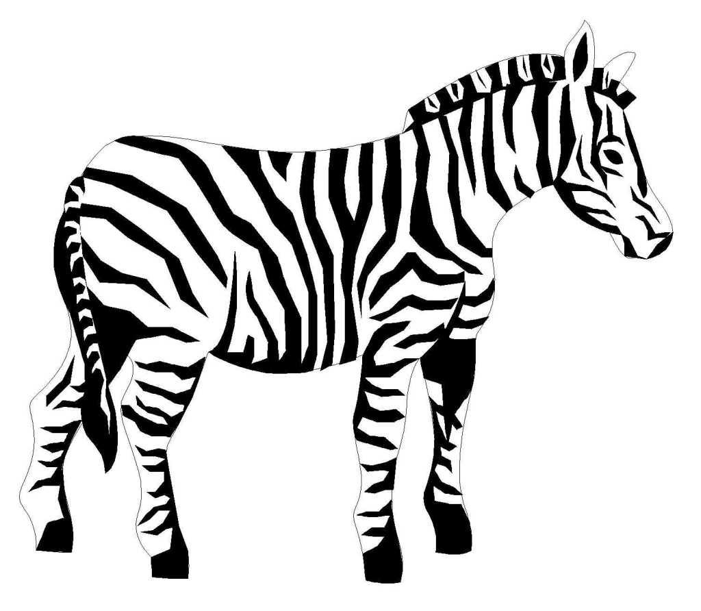 Coloriage Zou Le Zebre avec Dessiner Poc Dans Zou