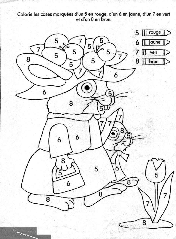 Coloriages À Imprimer : Chiffres Et Formes, Numéro : 1550 à Coloriage Numérique
