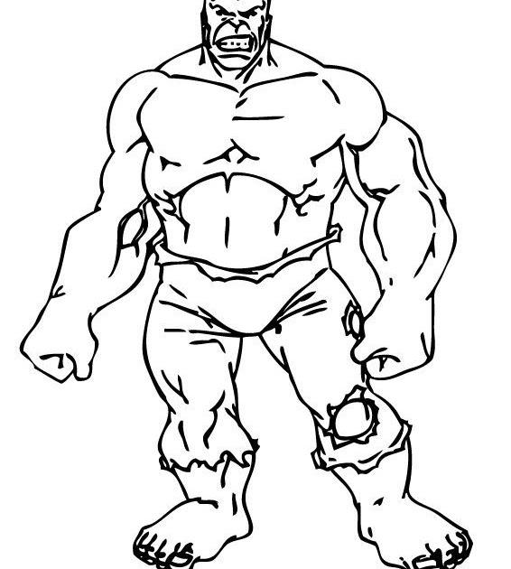 Coloriages A Imprimer : Coloriage Hulk avec Coloriage Hulk A Imprimer Gratuit