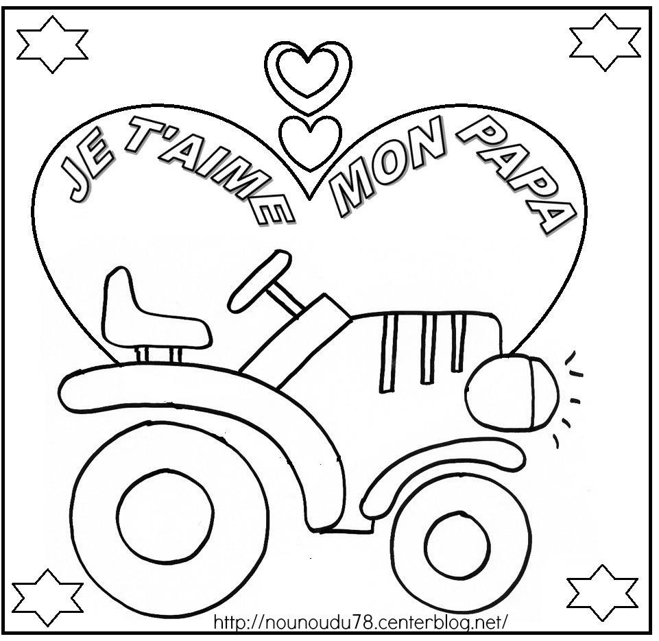 Coloriages À Imprimer : Fête Des Pères, Numéro : 445256 intérieur Dessin Fete Des Pere