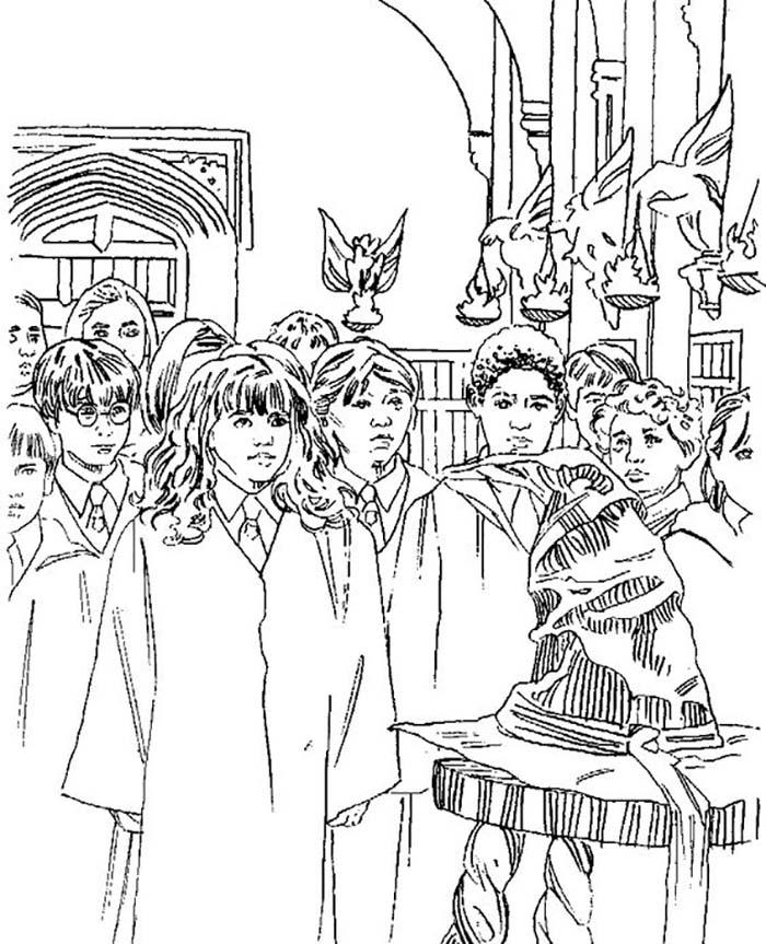 Coloriages À Imprimer Harry Potter serapportantà Coloriage Harry Potter
