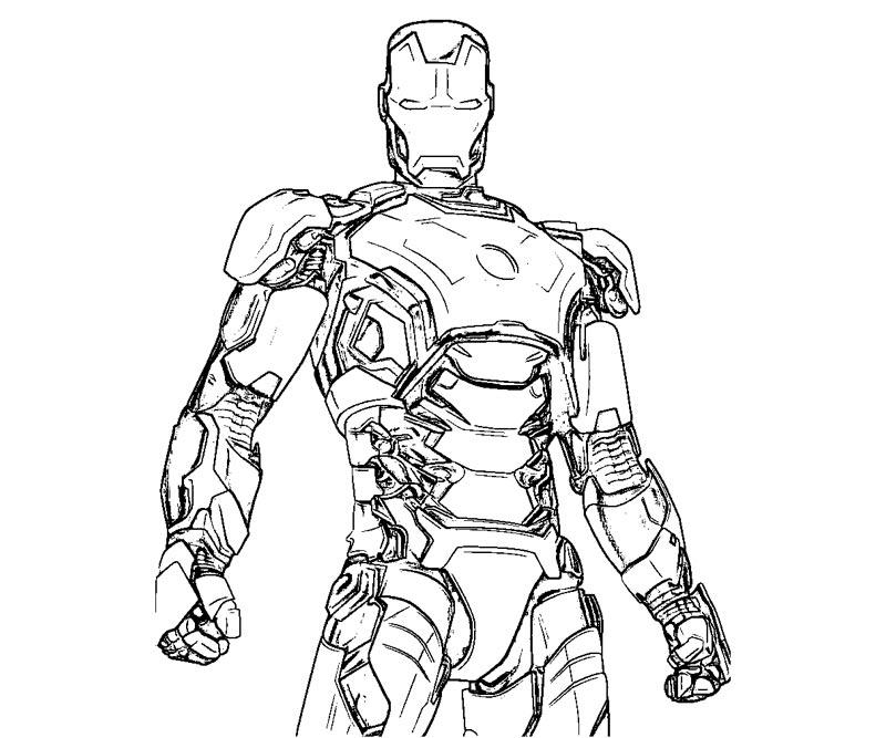 Coloriages À Imprimer : Iron Man, Numéro : 501175 encequiconcerne Coloriage Iron Man À Imprimer