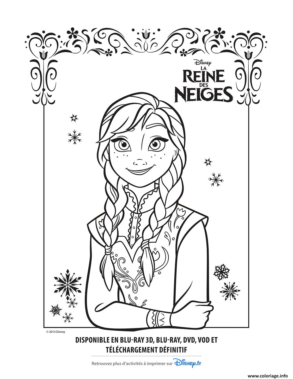 Coloriages À Imprimer : La Reine Des Neiges, Numéro : 1F0979C3 pour Coloriage À Imprimer Gratuit Reine Des Neiges