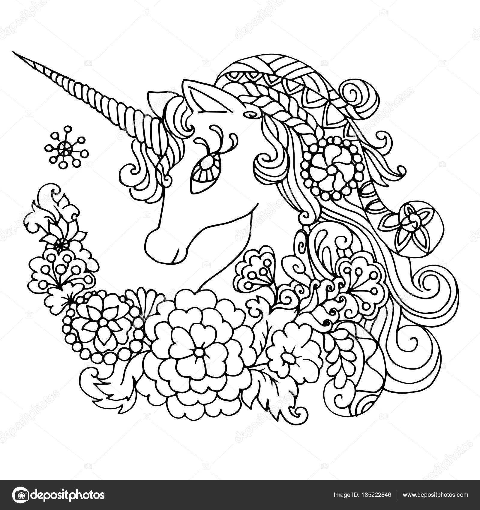 Coloriages À Imprimer : Licorne, Numéro : F765D734 dedans Coloriage Licorne A Imprimer