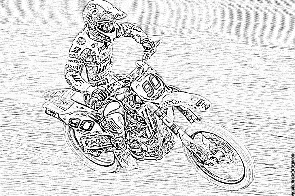 Coloriages À Imprimer : Moto, Numéro : 53632 dedans Dessin De Moto Ktm