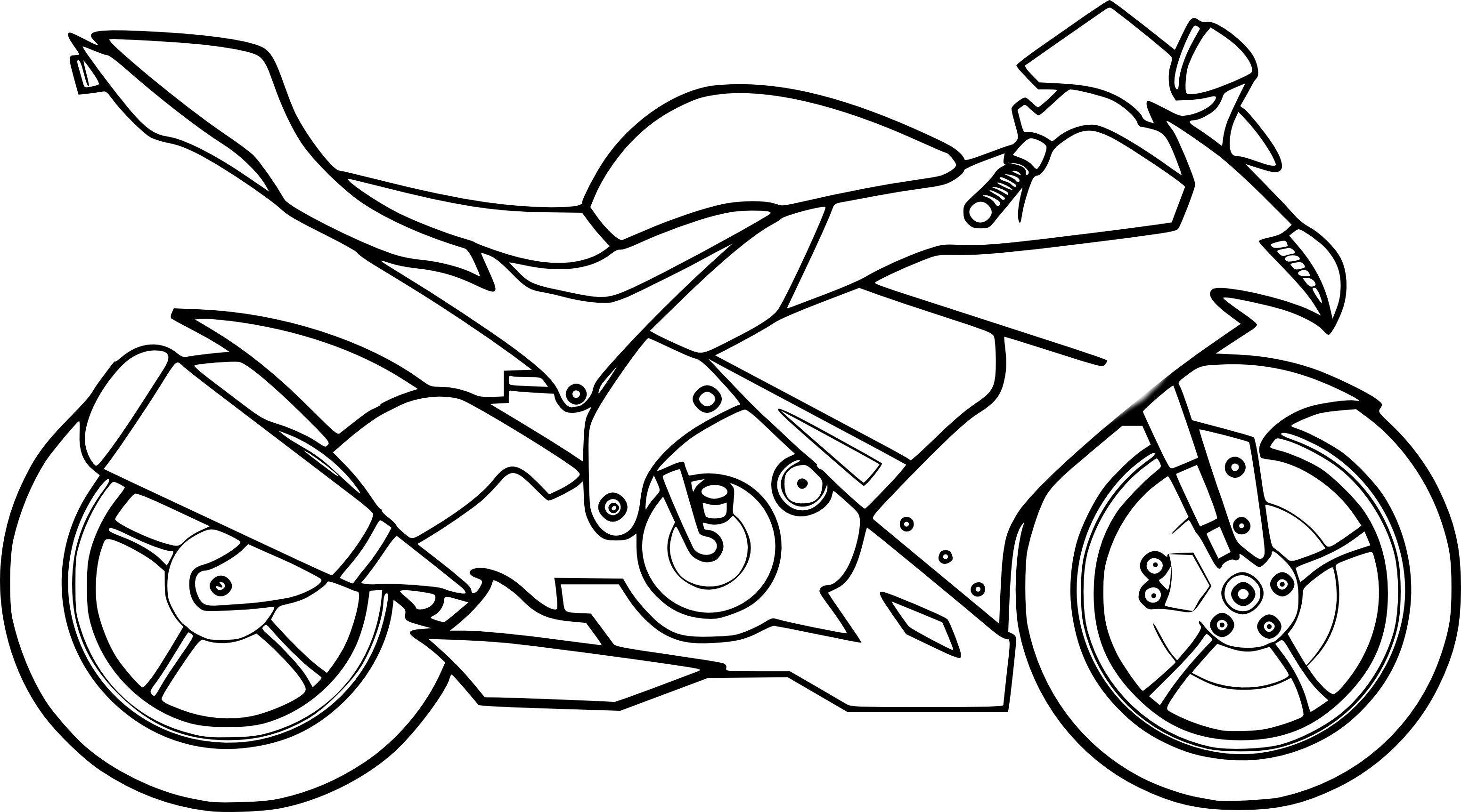 Coloriages À Imprimer : Moto, Numéro : B6420335 dedans Moto Cross A Colorier